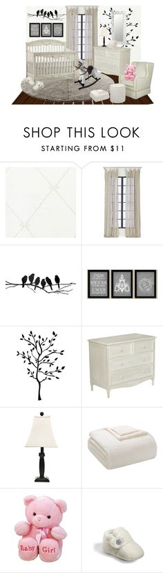 """""""1 Pop of Color Nursery"""" by hmb213 ❤ liked on Polyvore featuring interior, interiors, interior design, home, home decor, interior decorating, Astek, Stellar Works, CB2 and Monday"""