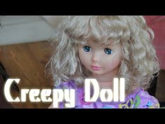 CREEPY DOLL Matea receives a doll as a hand me down. The family is a bit creeped out by it. She loves it and has named her JUNE but says her eyes turn red at night.   @themomsview  http://www.youtube.com/youparent