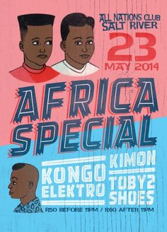 Social Contract's Poster Picks – Toby2Shoes for Africa Special (All Nations Club)