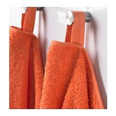 IKEA - HÄREN, Gæstehåndklæde, Mellemtykt frottéhåndklæde, der er blødt og meget fugtabsorberende (vægt 400 g/m²).De lange, fine fibre af kæmmet bomuld gør håndklædet blødt og holdbart.