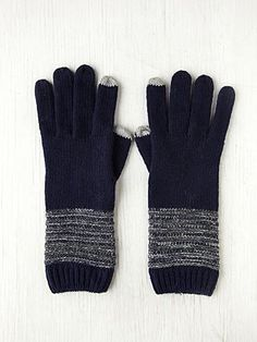 Gloves you can text in! http://www.freepeople.com/whats-new/touch-screen-glove/