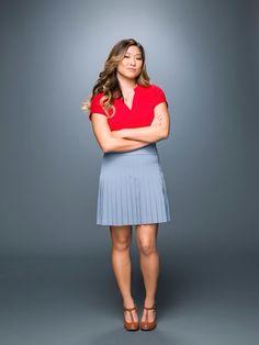 Jenna Ushkowitz as Tina in Glee's final season