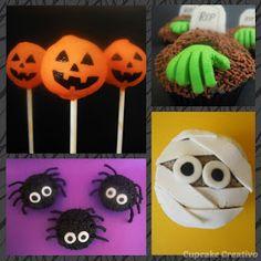 ¿Vas a celebrar Halloween este año? Pues aquí tienes un montón de Ideas de Postres para Halloween!!