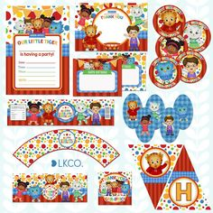 Free Daniel Tiger Birthday Printables Invitations And Banners