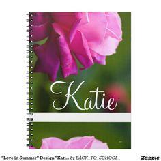 """Love in Summer"" Design ""Katie"" Journal"