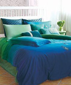 Ocean Blue Bedding Set