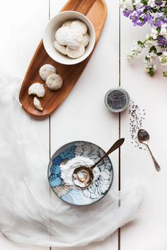 Lavender Cookies | my blue&white kitchen  | Calling all conscious foodies @ foodiehaven.com