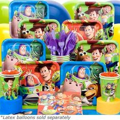 Toy Story Birthday Party Ideas and Supplies | MomsMags Birthdays