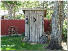 outhouse plans | One-Holer Outhouse in Pueblo Colorado