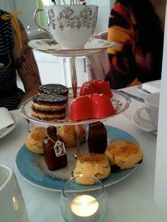 Alice in Wonderland Tea at the St. Martin's Lane Hotel.