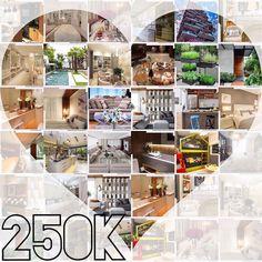 Chegamos!!!! 250K  Queremos agradecer a vocês por nos acompanharem diariamente nos ajudando com seus comentários a fazer um trabalho com qualidade. São 3 anos de pesquisas sempre buscando  expor as melhores imagens com conteúdo e dicas para vocês. Tudo feito com muito carinho  Estamos imensamente felizes por termos vocês aqui e convidamos a fazer parte dos próximos 250K com o melhor da arquitetura Decoração design arte e lifestyle. Curtam  comentem  isso nos direciona a escolher o melhor…