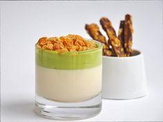 Cereal Milk Panna Cotta - by  Momofuku Milk Bar's pastry chef Christina Tosi   Source: Trissalicious - http://trissalicious.com/2009/11/29/cereal-milk-from-momofuku