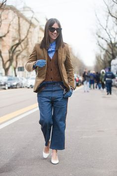 Pin for Later: See All the Best Street Style From Milan Fashion Week MFW Street Style