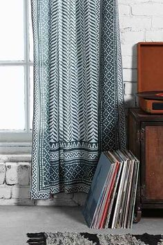 Magical Thinking Scallop Scale Curtain - Urban Outfitters