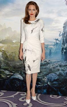 Angelina Jolie à une présentation de Maleficent | Clin d'oeil