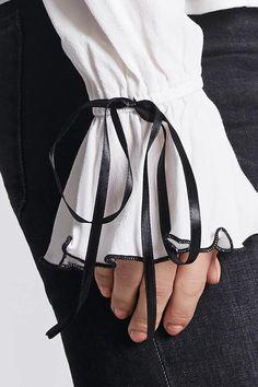 Contemporary Ruffle Collar Top