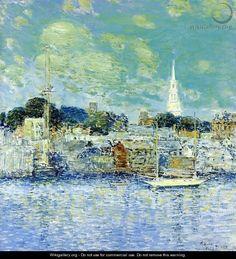 Newport Waterfront - Childe Hassam