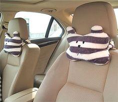 Free Shipping,bear round car head & Neck Pillow /Travel car cushion/Fashion Style/Wholesale,cute car interior accessories
