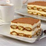 Biszkoptowe ciasto tiramisu