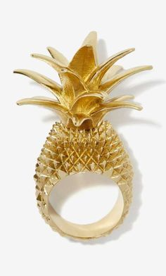 Gold Pineapple Ring!