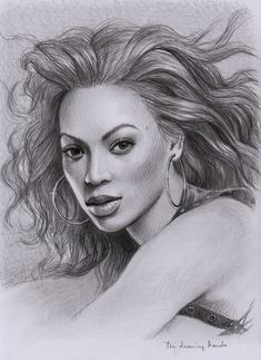Beyonce by thedrawinghands.deviantart.com on @deviantART