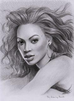 Beyonce by thedrawinghands.deviantart.com on @deviantART