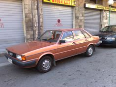 Audi 80 b2 in deze kleur koperbruin