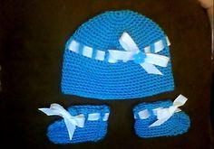 Baby set 4-blue