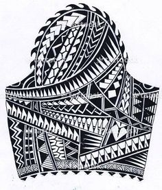 Polynesian Sleeve Tattoo ❥❥❥ https://tattoosk.com/polynesian-sleeve-tattoo#261 #polynesiantattoosdesigns