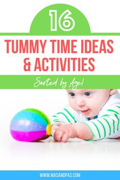 There are so many fun ways to incorporate tummy time activities into your newborn baby routine that they will absolutely love! Tummy Time Activities for Infants. Fun play ideas and child development tips, including all the tummy time milestones from newborn to 4+ months old baby. #momtips #momhacks #tummytime #momlife #newbornbaby Indoor Activities For Kids, Time Activities, Activities For Infants, Preschool Activities, Parenting Articles, Parenting Hacks, Potty Training Boys, Toddler Schedule, Thing 1