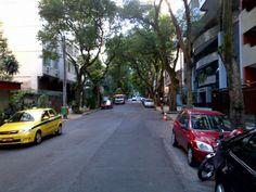 Quiet leafy street in Copacabana. 5 minute walk to the beach.