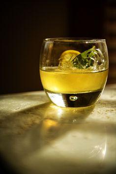 Mint Infused Lemon Drop Cocktail