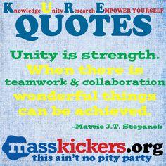 Promote Unity