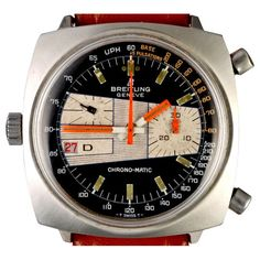 FANCY SALE: Follow us and repin and win  1969 Breitling Chrono-Matic ref. 2111-15 by Timeline Watch  (Click on photo to see more ...)
