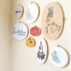 Finally putting up all the hoops in my collection!  Off of my kitchen table lol The thing about hoops is they all come together no matter what. The cohesiveness of the round shape is always pleasing! Start your collection by checking out my shop on @etsy ! Any home projects in your weekend plans? -- #clothandtwigPOP #pocketofmyhome #differencemakesus