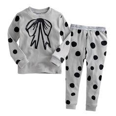 "Vaenait Baby Infact Clothes Kids Sleepwear Pajama ""Ribbon Grey"" S(2T) #VaenaitBaby #PajamaSet"