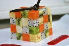 rubik cube de fruits