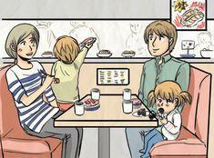 8 Must-Visit Restaurants in Tokyo for Kids Tokyo Restaurant, Restaurant Guide, Sanrio Characters, Cute Characters, Go To Japan, Japan Trip, Conveyor Belt Sushi, Tokyo With Kids, Takeshita Street