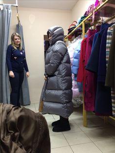 Down coat MARCHI #downcoat_marchi #marchi #fashion