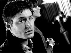 Since I've been on a Supernatural kick for the last few weeks I thought it was only fitting to add the absolutely gorgeous Jensen Ackles who plays Dean Winchester. Love that character :)