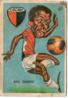 figurita tarjeton futbol sport 1967 #95 Raul Cardozo - Colon de Santa Fe
