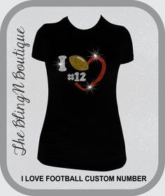 Hey, I found this really awesome Etsy listing at https://www.etsy.com/listing/197593947/i-heart-footbal-with-custom-player