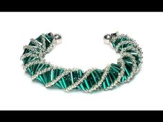 Tutorial: beads style №3 for pandora bracelet / Спиральный жгут из бисер...