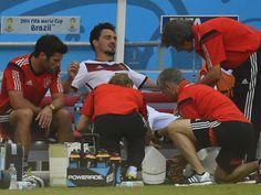 Mats Hummels musste in der 73. Minute ausgewechselt werden vs Portugal WC Juni 2014
