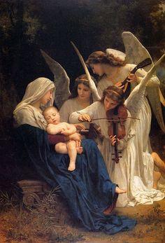 La Vierge aux Anges by William Bouguereau