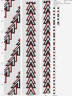Lbeads: елочка 15 around Bead Crochet Patterns, Seed Bead Patterns, Bead Crochet Rope, Beaded Jewelry Patterns, Peyote Patterns, Beading Patterns, Seed Bead Flowers, Crochet Beaded Bracelets, Woodworking Patterns