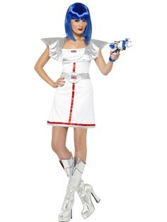 Our Spacegirl costume will transform you to an astronaut. Shop from large…