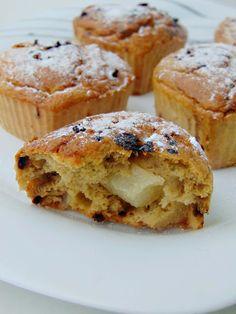 Muffiny kawowe z gruszką | Moje zdrowe słodkości oraz porady żywieniowe