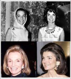 Sisters Jacqueline Lee (1929-1994) and Caroline Lee Bouvier (1933).