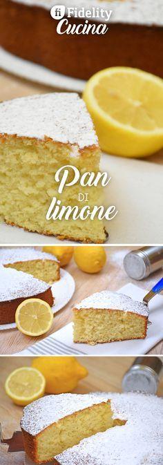 Il pan di limone è un dolce soffice, dalla consistenza umida e compatta e dal profumo irresistibilmente fresco. Ecco la ricetta